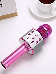 cheap -wireless karaoke bluetooth condenser microphone portable singing handheld speaker >85 for conference stage ktv interview home 220 v 5 w 0.1-10 khz 1800 mah 5 v for studio recording &
