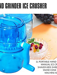 cheap -Handle DIY Ice Crusher Manual Multifunction Portable Slush Maker Home Snow Cone Smoothie Block Making Machine Shaver