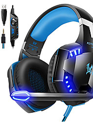 cheap -KOTION EACH G2000 Headphone Luminous Earphone Gaming Headset Gamer with Microphone Headphones for Computer PC