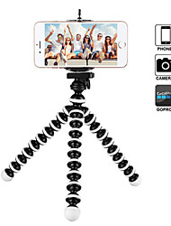 cheap -Octopus Flexible Tripod Stand Gorillapod for Phone Telefon Mobile Phone Smartphone Dslr Camera Table Desk Mini Tripod With Clip