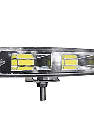 cheap -1pcs 12-24V For Auto Motorcycle Truck Boat Tractor Trailer Offroad Working Light 48W work led Bar COB CHIP Offroad LED Work Car Light Truck Off-road Tractor SUV 4x4 Car Led Headlights Fog Lighting