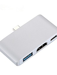 cheap -Type C Hub Dock with PD USB 3.0 for Macbook Multifunctional High Speed Hub