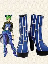 cheap -Cosplay Shoes JoJo's Bizarre Adventure Jolyne Cujoh Anime Cosplay Shoes PU Leather Men's / Women's 855