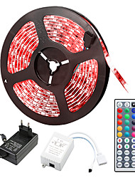 cheap -5m Flexible LED Strip Lights Light Sets RGB Tiktok Lights 150 LEDs 5050 SMD 10mm RGB Remote Control RC Cuttable Dimmable 12 V Linkable Self-adhesive Color-Changing IP44