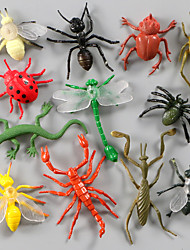 cheap -Display Model Model Building Kit Insect Animals Simulation Plastic PVC(PolyVinyl Chloride) 12 pcs Party Favors, Science Gift Education Toys for Kids and Adults / 14 Years & Up