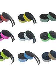 cheap -BEATACE® Bike Handlebar Tape Cycling Ultra Light (UL) Wearable Lightweight Skidproof For Road Bike Recreational Cycling Fixed Gear Bike Cycling Bicycle PU(Polyurethane) Black / Yellow fluorescent