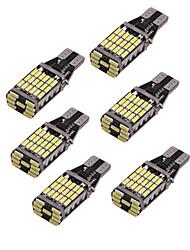 Недорогие -Супер яркий t10 12 В 45 smd светодиодный 4014 автомобиль авто canbus безошибочный обратный свет фонарь заднего хода лампа заднего хода белый