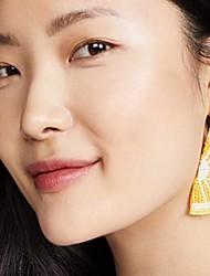 cheap -Women's Hoop Earrings Geometrical Fruit Earrings Jewelry Yellow / Orange / Green For Daily 1 Pair