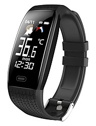 cheap -Smartwatch T5 with Body Temperature Heart Rate Monitor Fitness Watch Color Screen Pedometer Smart Watch Band Running
