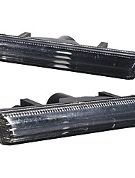 cheap -2Pcs Front Bumper Side Marker Lights Clear Smoked for BMW 7-Series E38 1995-2001