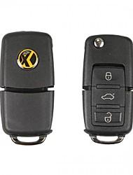 cheap -5pcs/lot Xhorse universal VVDI wire remote control XKB501EN XKB508EN Car Key no transpponder chip for VVDI Mini Key Tool VVDI2