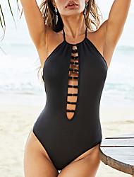 cheap -Women's One Piece Swimsuit Normal Swimwear Bathing Suits Black