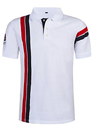 cheap -Golf Shirt Tennis Shirt Short Sleeve Sports & Outdoor Tops Casual Daily Casual / Sporty White Red Navy Blue / Machine wash / Hand wash / Wet and Dry Cleaning / Causal / golf shirts