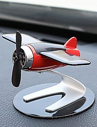 cheap -Car Home Decoration Aromatherapy Airplane Decoration Solar Energy Rotate Aircraft Funny Kid Gift Aircraft Model