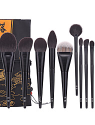 cheap -Professional Makeup Brushes 12pcs Professional Soft Full Coverage Wooden / Bamboo for Eyeliner Brush Blush Brush Foundation Brush Makeup Brush Eyeshadow Brush