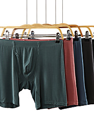 cheap -Men's Sports Underwear Boxer Brief Trunks Athletic 1pc Shorts Underwear Shorts Bottoms Sport Running Walking Jogging Breathable Quick Dry Soft Plus Size Black Red Green Blue Gray Fashion / Stretchy
