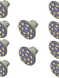 cheap -10pcs 2 W LED Spotlight 300 lm MR11 12 LED Beads SMD 5730 Warm White Natural White White 9-30 V