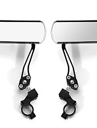 cheap -Pair 360 Rotate Rearview Mirrors Adjustable Aluminum Alloy Cycling Bike Mirror Motorcycle
