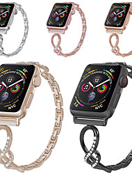 cheap -Smart Watch Band for Apple iWatch 1 pcs Classic Buckle Stainless Steel Replacement  Wrist Strap for Apple Watch Series 5 Apple Watch Series SE / 6/5/4/3/2/1 38mm 40mm 42mm 44mm