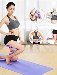 cheap -Leg Muscle Yoga Training Device Hip Clip Gym Workout Equipment Rubber Elastic Outdoor Fitness Sport Strength Exercise Resistance
