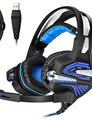cheap -KOTION EACH GS100 Esports Game Vibration Headset Headset Computer Headset with Microphone Subwoofer USB