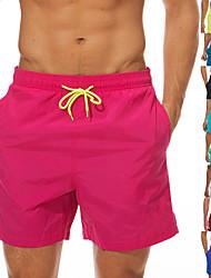 cheap -Men's Swim Shorts Elastane Bottoms UV Sun Protection Quick Dry Swimming Surfing Beach Painting Summer
