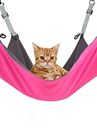 cheap -Cat Dog Bed Blankets Textile Polar Fleece Terylene Waterproof Portable Breathable Black Pink Blue