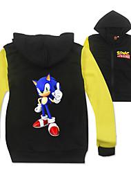 cheap -Kids Boys' Active Basic Rainbow Long Sleeve Shirt Black