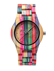 cheap -Unisex Digital Watch Quartz Stylish Fashion Adorable Analog Blushing Pink Orange Green / Wood / Japanese / Japanese