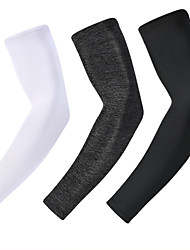 cheap -UV Sun Protection Cooling Arm Sleeves Compression Arm Cover Shield Sleeves Sun Sleeves Lightweight Anti-Slip Ultraviolet Resistant Nylon Ice Silk for Fishing Hiking Outdoor Exercise 1 Pair