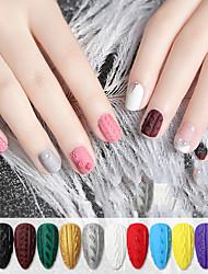 Недорогие -лак для ногтей уф-гель 8 мл 1 шт рельеф ногтя клей цвет окраски функциональный клей фототерапия клей альфа-камедь