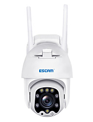 cheap -ESCAM 1080P Full-color Night Vision IP Camera Outdoor Camera QF288 H.265X Pan/Tilt/8X Zoom AI Humanoid Detection Cloud Storage Waterproof WiFi IP Camera Onvif Two Way Audio Cam