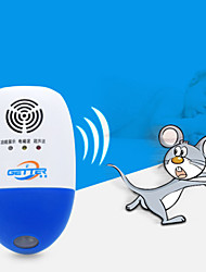 cheap -Ultrasonic electronic mouse repellent mousetrap six-band frequency conversion household mosquito repellent cockroach rodent killer