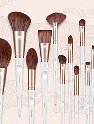 cheap -Professional Makeup Brushes 13pcs Professional Full Coverage Comfy Artificial Fibre Brush Wooden / Bamboo for Blush Brush Foundation Brush Makeup Brush Eyeshadow Brush