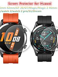 Недорогие -2 шт протектор экрана для huawei GT2 46 мм 42 мм / GT 2E / GT / магия / магия 2 46 мм 42 мм / часы / часы 2 / часы 2 pro / s1 / часы мечты закаленное стекло прозрачное высокое разрешение (hd)