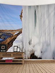 economico -vista sul ghiacciaio stampato arazzo decor wall art tovaglie copriletto coperta da picnic spiaggia tiro arazzi colorato camera da letto sala dormitorio soggiorno appeso