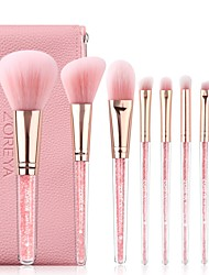 cheap -Professional Makeup Brushes 8pcs Soft Artificial Fibre Brush Plastic for Foundation Brush Makeup Brush Set