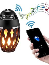 cheap -Led Flame Speakers Flame Torch Speaker Bluetooth Wireless Portable Outdoor Speaker with LED Flickers Lights for iPhone/Android