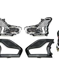 Недорогие -электрические лампочки автомобиля litbest 2pcs вели противотуманные фары для мстителя ford