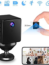 cheap -VStarcam 1080p Mini Hidden Camera Mini Spy Cam Wireless Hidden Nanny Cam with Night Vision& Motion Detection Battery Powered Loop Recording Spy Cam for Home& Office Security Monitor (Without TF Card)