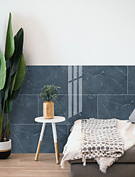 cheap -3D wall pasted with PVC thickened ceramic tile pasted with imitation marble grain crystal pasted with waterproof and moisture-proof self adhesive wall stickers 30 * 60 * 4 piec