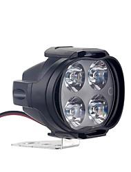 cheap -2pcs 30W Motorcycles Headlight bike Headlight bulb Super Bright 4 LED Waterproof Driving Spot Fog Lights External LED