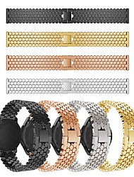cheap -Watch Band for Huawei Watch GT / Huawei Watch 2 Pro / Huawei Watch GT2 46mm Huawei Jewelry Design Stainless Steel Wrist Strap