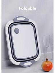 economico -tagliere pieghevole con filtro, cestello di scarico multifunzione vasca pieghevole, lavello per frutta e verdura lavello cestello per cucina domestica campeggio esterno