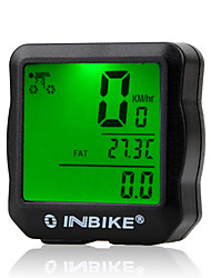 cheap -IC528 Bike Computer / Bicycle Computer Odo - Odometer SPD - Current Speed 12/24 Hours System Mountain Bike / MTB Road Bike Recreational Cycling Cycling