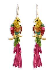 cheap -Women's Hoop Earrings Geometrical Precious Earrings Jewelry Rainbow For Daily 1 Pair