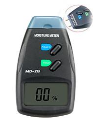 Недорогие -md-2g жк-цифровой измеритель влажности древесины цифровой тестер 2-контактный измеритель влажности древесины