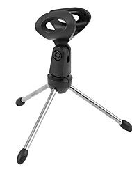 cheap -Mini Mic Stand Tripods Holder Desktop Table Adjustable Stands