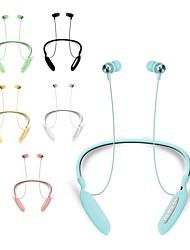 Недорогие -litbest vj090 наушники с шейным ободом беспроводная связь Bluetooth 5.0 стерео с микрофоном для занятий фитнесом