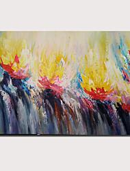 tanie -obraz olejny ręcznie malowany - abstrakcyjny pejzaż współczesny nowoczesny naciągnięty na płótno